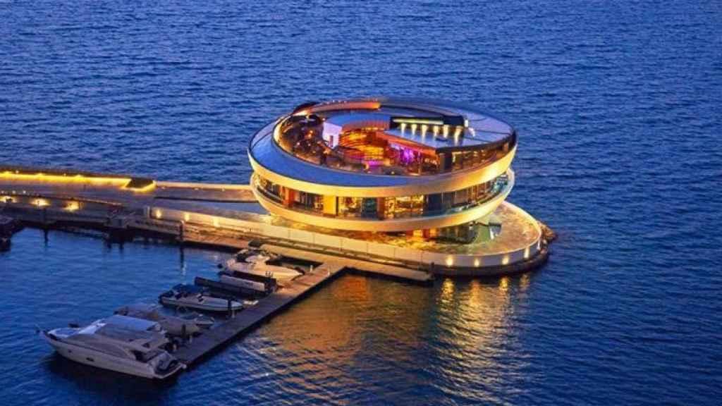 Uno de los restaurantes más lujosos de Doha.
