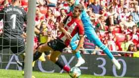 Athletic vs Valencia. Foto: Twitter (@valenciacf)