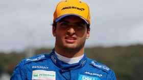 Carlos Sainz, en el Gran Premio de Rusia de la Fórmula 1