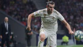 Gareth Bale sortea la entrada de Saúl en el derbi madrileño