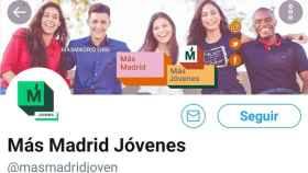 La imagen utilizada por Más Madrid Jóvenes.