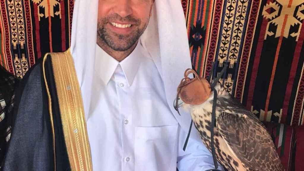 Xavi Hernández en Qatar