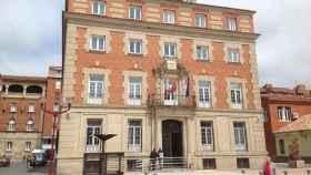 Sede de los Juzgados de Palencia.