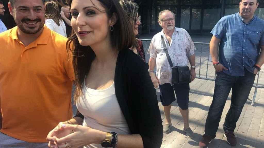 Lorena Roldán, portavoz de Ciudadanos.