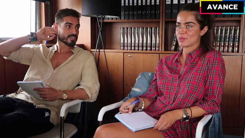 Fabio y Violeta en su terapia de pareja.