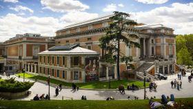 Vista general del Museo del Prado.