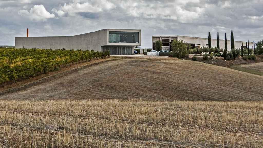 Bodega de Belondrade en La Seca (Valladolid).