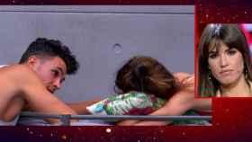 Sofía veía en directo las imágenes de la complicidad entre su novio y Estela Grande.