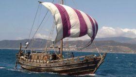 El 'Phoenica', el navío con el que Beale y su tripulación pretenden cruzar el Atlántico.