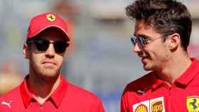 Vettel en el GP de Rusia