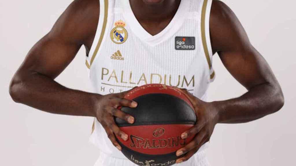 Usman Garuba, jugador del Real Madrid de Baloncesto