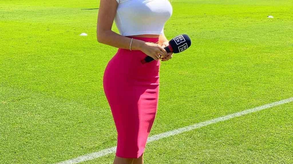 La periodista Diletta Leotta