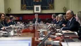 Reunión del pleno del CGPJ,/