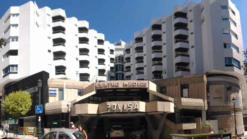 Una imagen de archivo de Povisa.