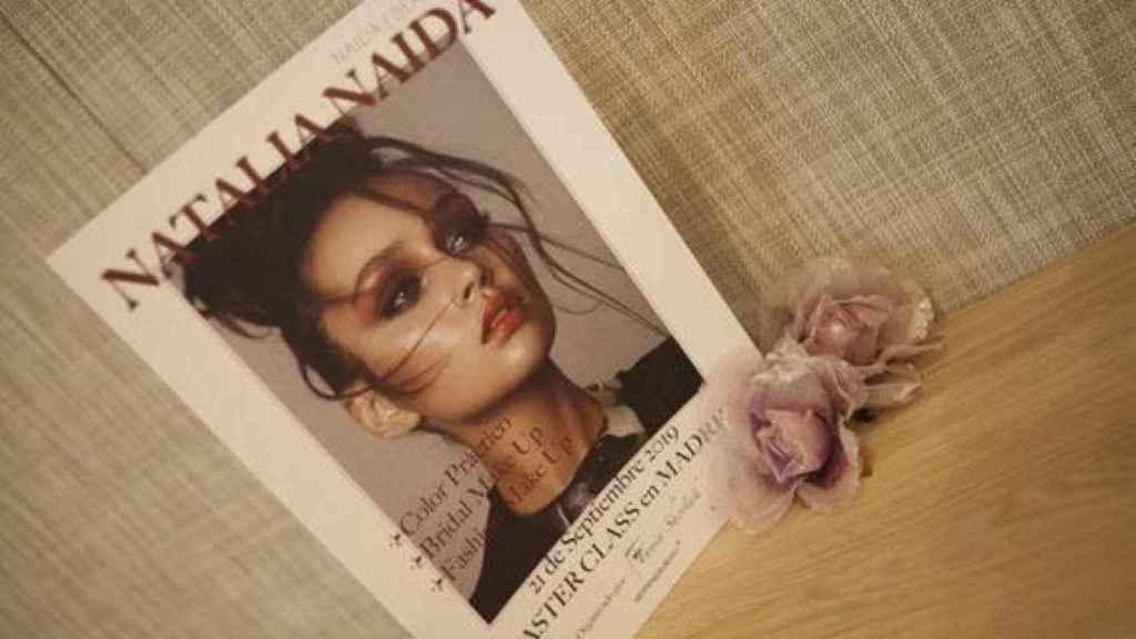 Brochure de la Master Class de Natalia Naida en Madrid