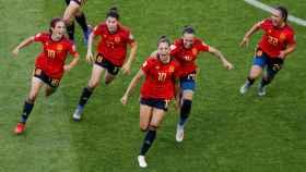 La Selección Española femenina.