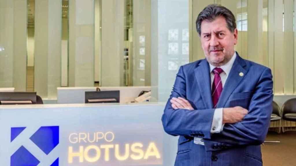 El presidente del Grupo Hotusa, Amancio López Seijas.
