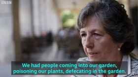 Una unionista denuncia ataques en su casa ante la BBC