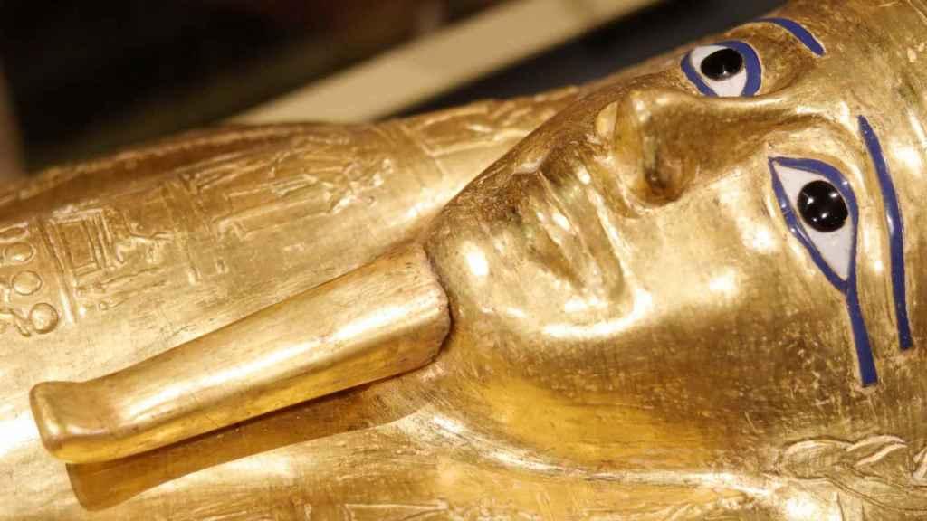 El cofre de oro del sacerdote Nedjemankh.