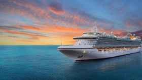 Un crucero turístico en una imagen de archivo.