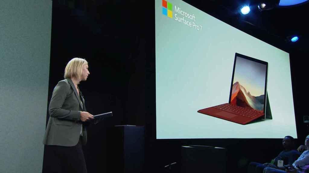 Nueva Surface Pro 7.