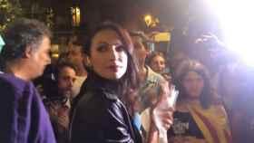 Agreden a una reportera de Telecinco en la manifestación del 1 de Octubre