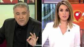 Antonio García Ferreras y Carme Chaparro.