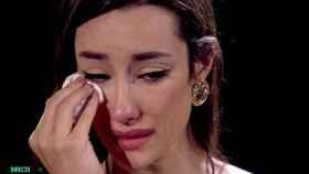 Adara desveló entre lágrimas algunos momentos difíciles de su vida.