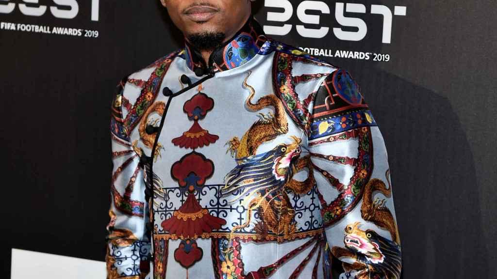 Samuel Eto'o, en la gala The Best