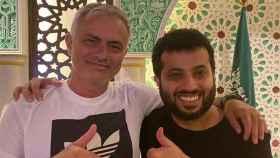 Mourinho junto al Al-Sheikh, nuevo propietario del Almería