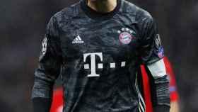 Manuel Neuer, durante un partido del Bayern Múnich de Champions