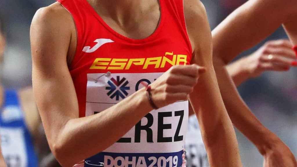 La atleta española Marta Pérez