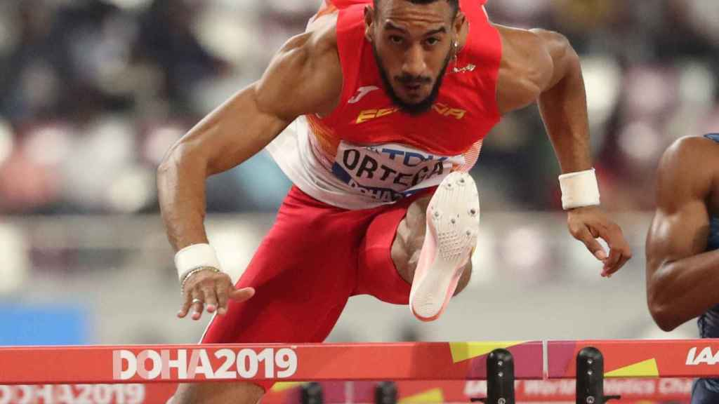Orlando Ortega, en el Mundial de Atletismo 2019