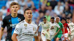 Lucas Vázquez pone en un aprieto a Zidane