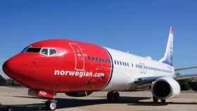 Un avión de Norwegian en una imagen de archivo.
