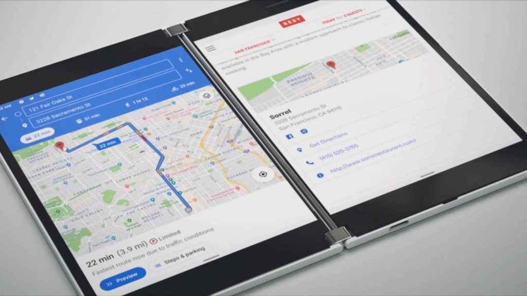 El nuevo iPhone seguiría el camino del Surface Duo de Microsoft