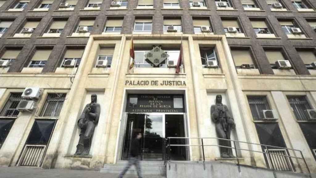 Palacio de Justicia de Murcia.