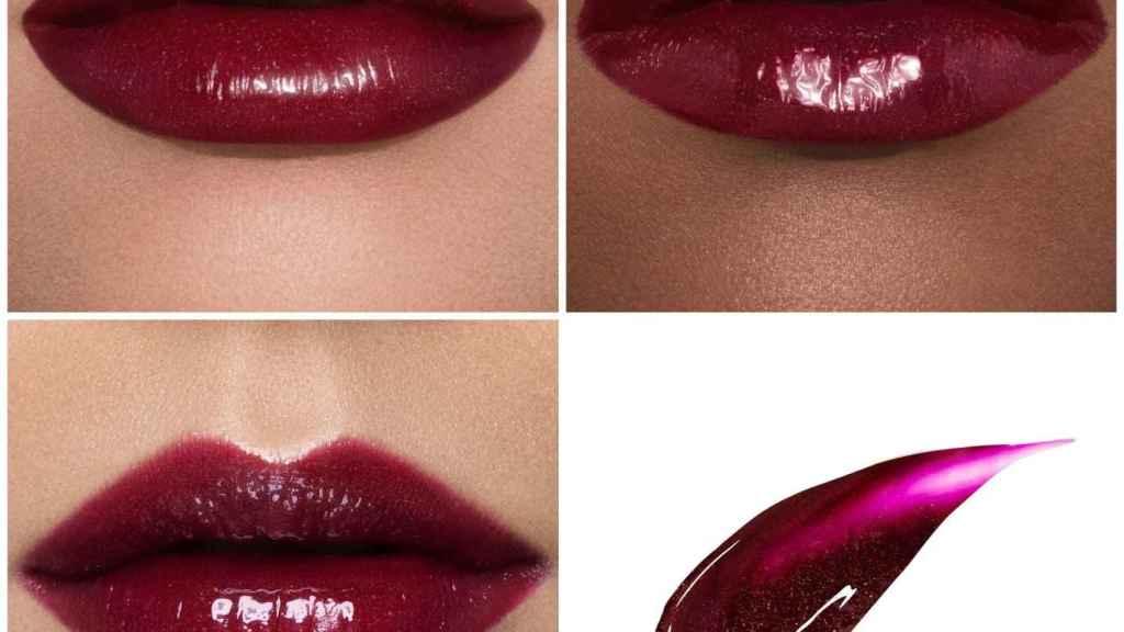 Le Riot lip gloss, ultrapigmentado y brillante.