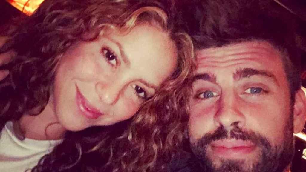 Gerard Piqué, junto a Shakira