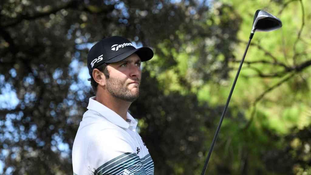 El golfista Jon Rahm en el Open de España