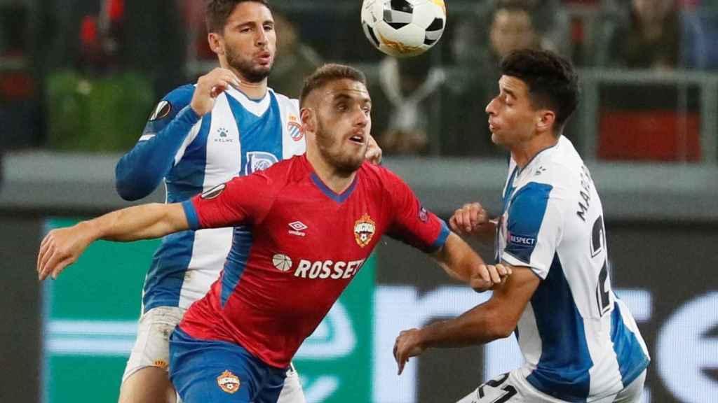 CSKA de Moscú-Espanyol