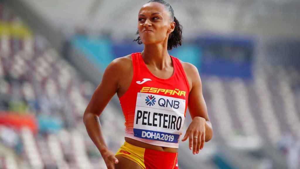 Ana Peleteiro en el Mundial de Doha
