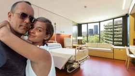 Así es la lujosa suite de Laura Escanes y Risto Mejide en el Hospital de Barcelona