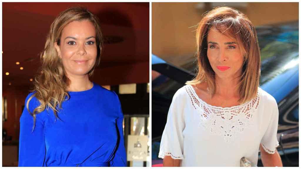 María José Campanario y María Patiño en un montaje de JALEOS: