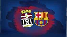 Barça - Cartagena solidario