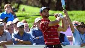 El golfista barcelonés Adri Arnaus en el Open de España
