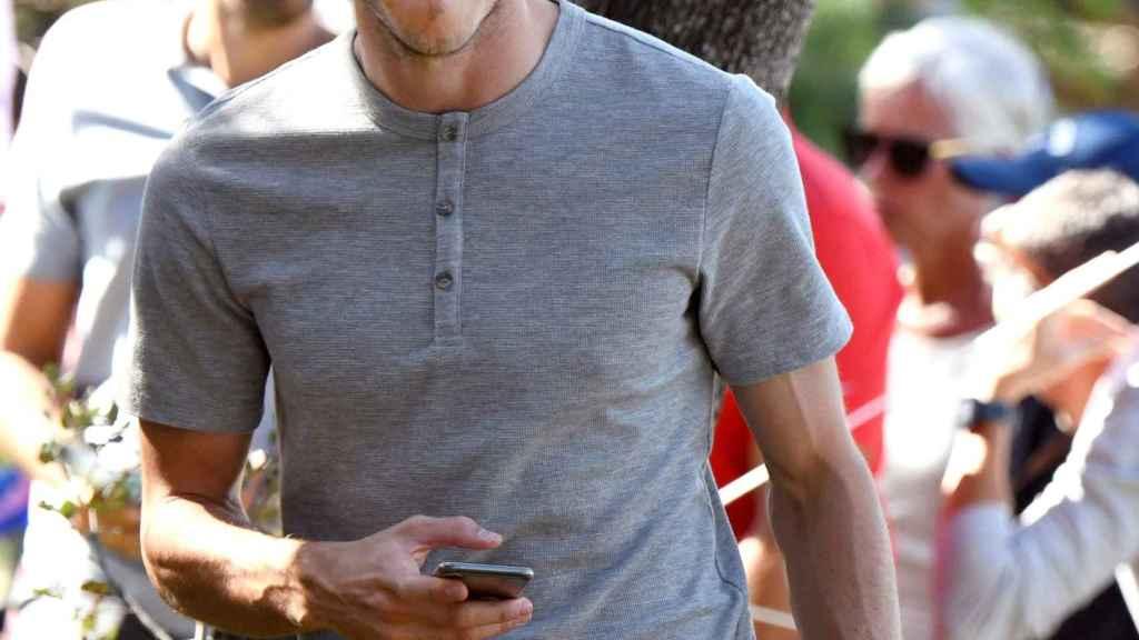 Gareth Bale, en el campeonato de España de golf