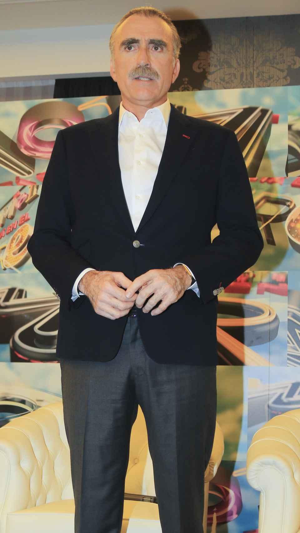 El presentador andaluz en imagen de archivo.