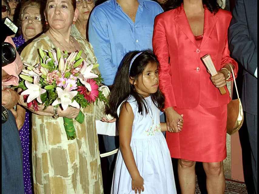 Ana, Kiko Rivera, Isabel Pantoja e Isa Pantoja en una imagen de archivo.