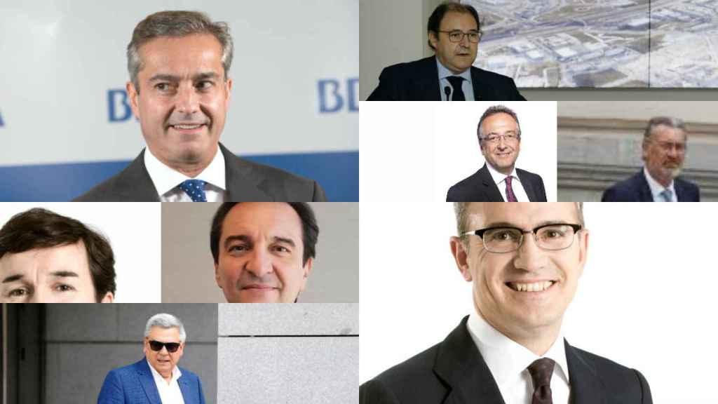 Ángel Cano, Antonio Béjar, José Luis de los Santos, Ignacio Pérez Caballero, Ricardo Forcano, Antonio Campos, Eduardo Arbizu.